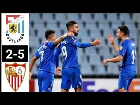 Dudelange 2 - 5 Sevilla (Nov-07-2019) Europa League Highlights