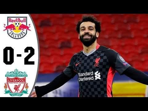 RB Leipzig 0 - 2 Liverpool (Feb-16-2021) UEFA Champions League Highlights