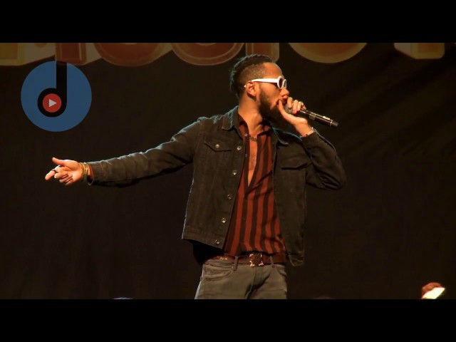 Phyno's Performance at Glo Mega Music Lagos