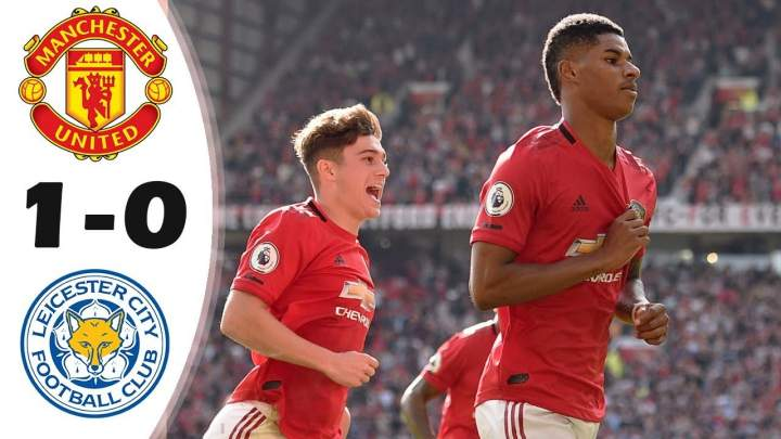 Man United 1 - 0 Leicester City (Sat-14-2019) Premier League Highlights