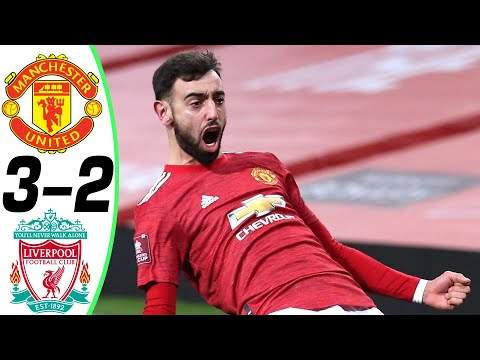 Manchester Utd 3 - 2 Liverpool (Jan-24-2021) FA Cup Highlights