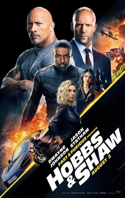 Movie: Fast & Furious Presents: Hobbs & Shaw (2019) [HC-HDRip]