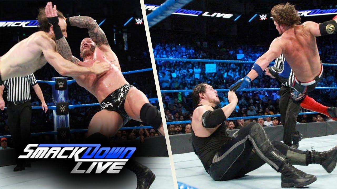 WWE SmackDown (Sep-19-2017) Highlights