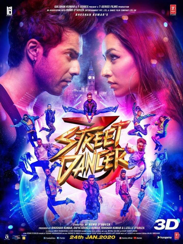 Street Dancer 3D (2020) [Indian]