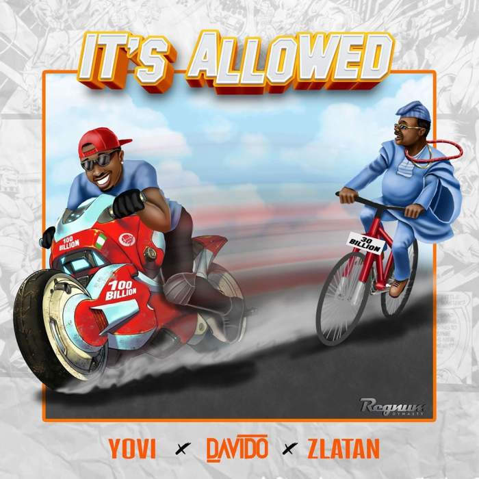 Yovi - It's Allowed (feat. Davido & Zlatan)