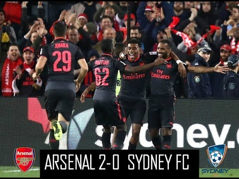 Sydney FC 0 - 2 Arsenal (July-13-2017) Club Friendly Highlights