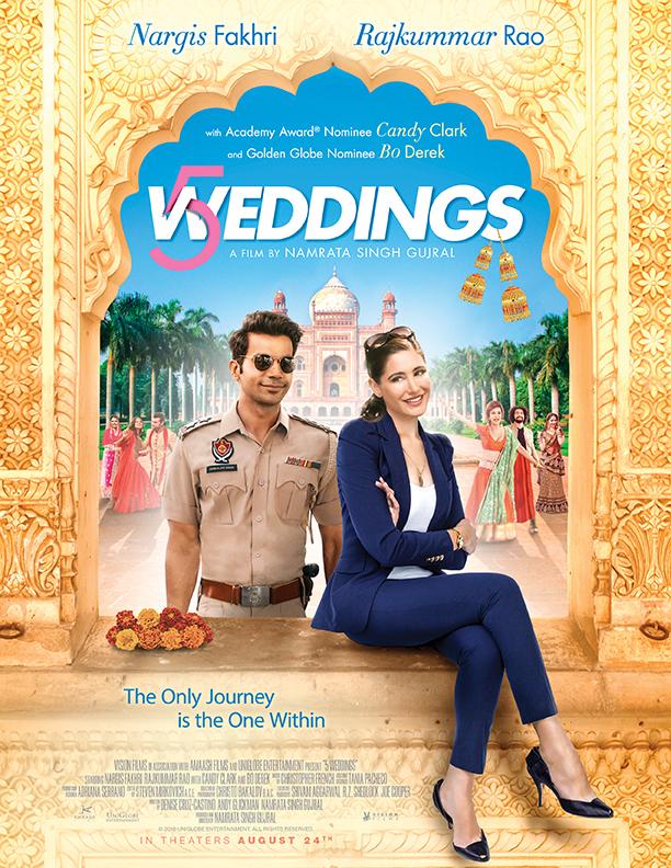 5 Weddings (2018) [Indian]