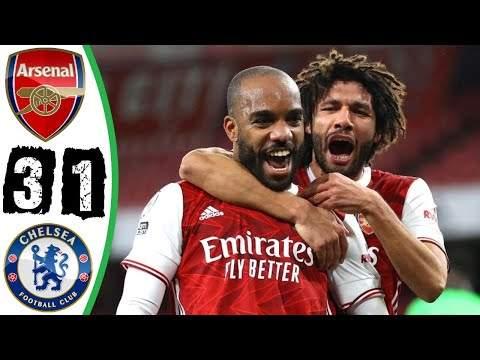 Video: Arsenal 3 - 1 Chelsea (Dec-26-2020) Premier League Highlights