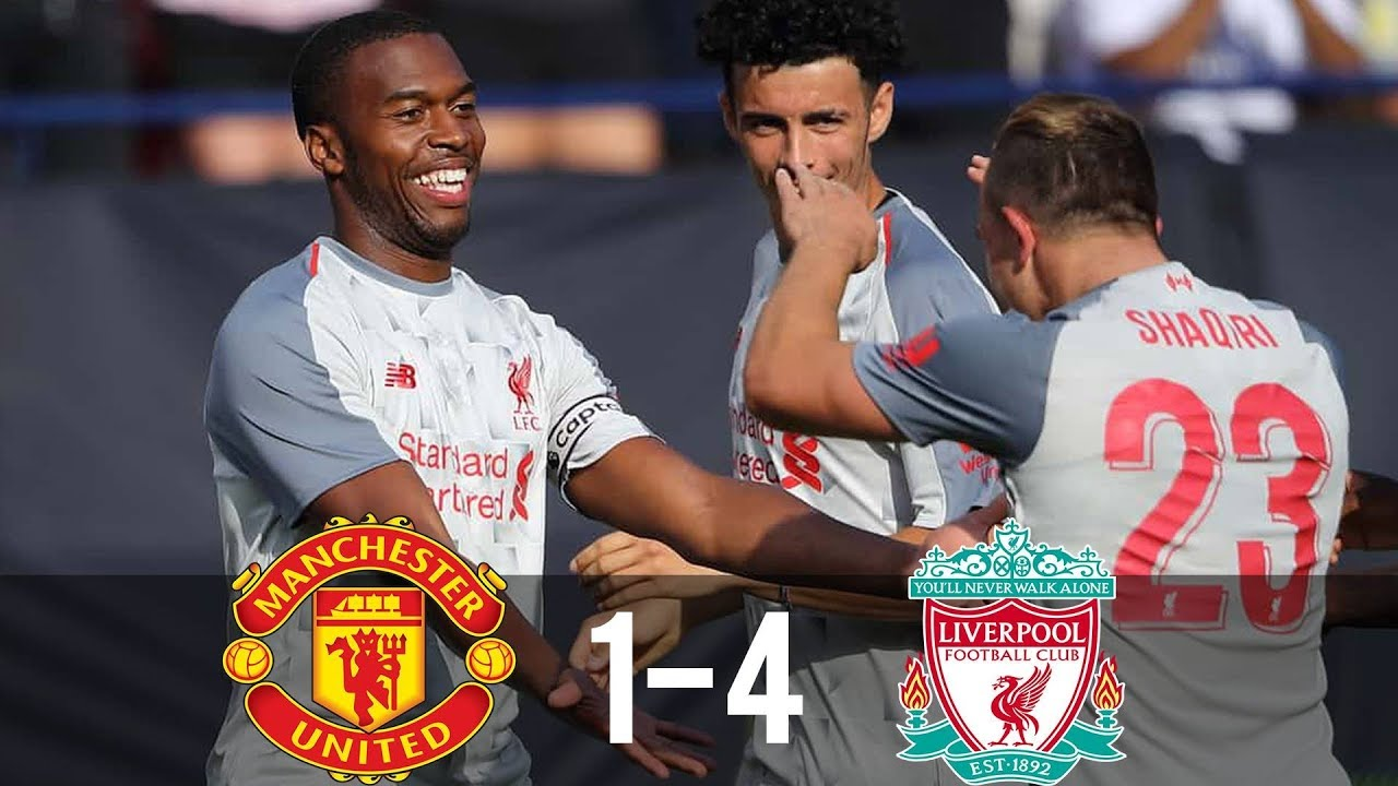 Manchester United 1 - 4 Liverpool (Jul-28-2018) Int'l Champion's Cup Highlights