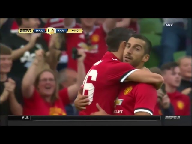 Manchester United 2 - 1 Sampdoria (Aug-2-2017) Club Friendly Highlights