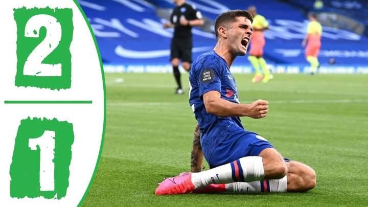 Chelsea 2 - 1 Manchester City (Jun-25-2020) Premier League Highlights