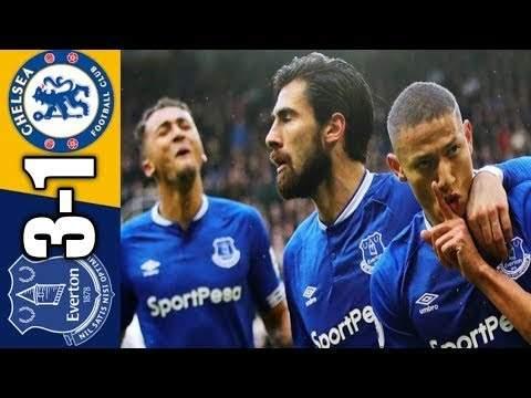 Everton 3 - 1 Chelsea (Dec-07-2019) Premier League Highlights