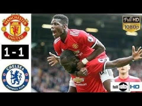 Manchester United 1 - 1 Chelsea (28-APR-2019) Premier League Highlights