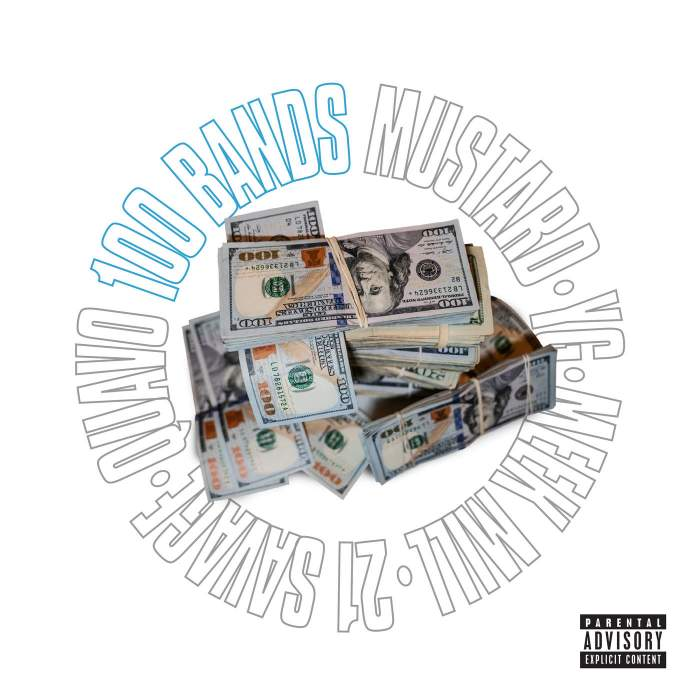 Mustard - 100 Bands (feat. Quavo, 21 Savage, Meek Mill & YG)