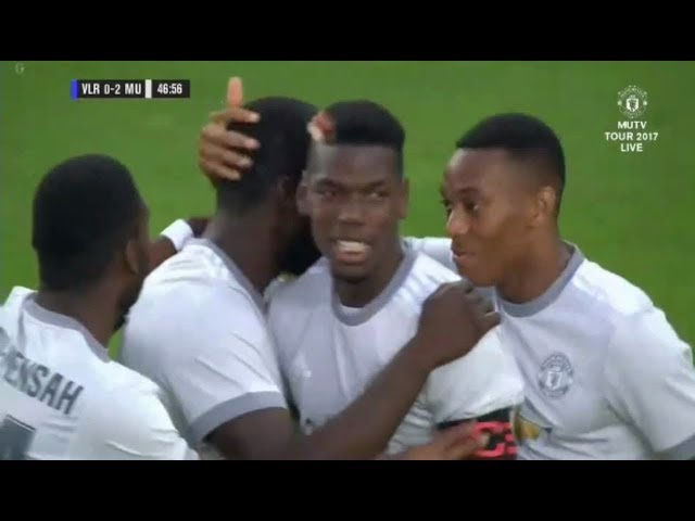 Manchester United 3 - 0 Valerengen (Jul-30-2017) Friendly Highlights