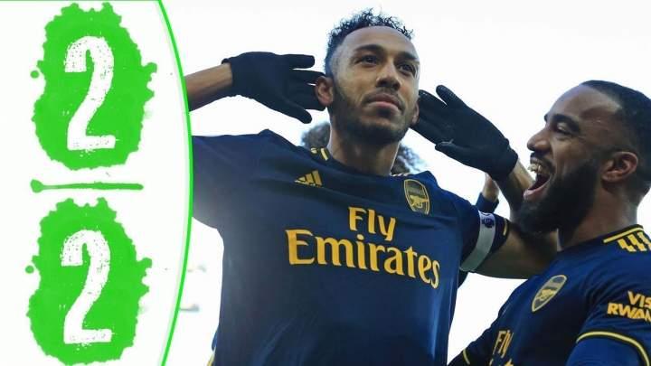 Norwich 2 - 2 Arsenal (Dec-01-2019) Premier League Highlights
