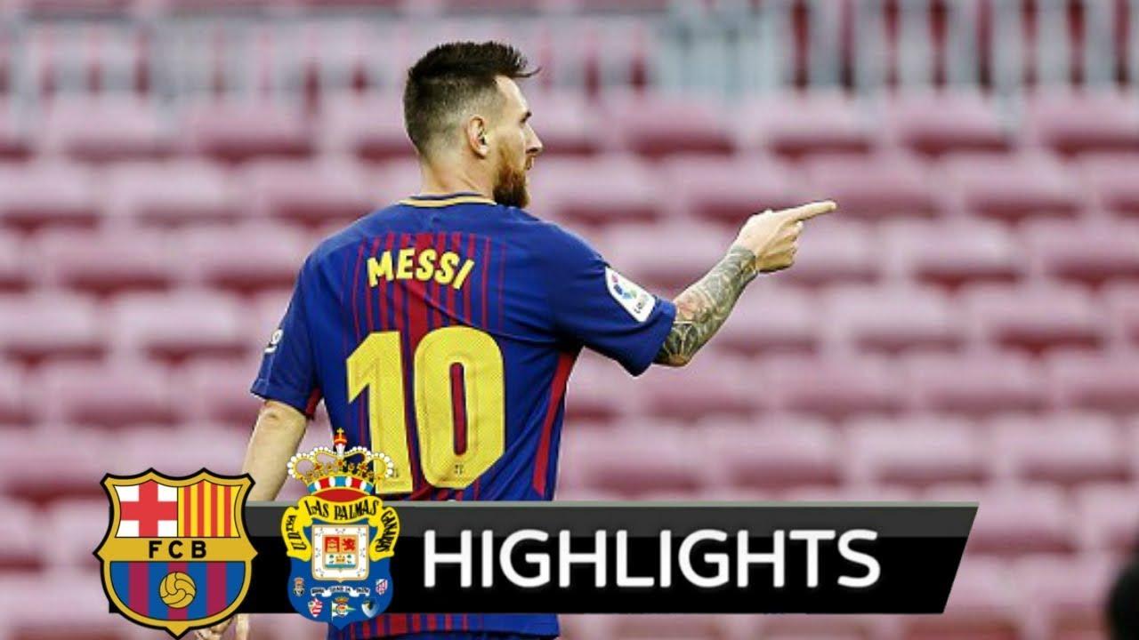 Barcelona 3 - 0 Las Palmas (Oct-1-2017) La Liga Highlights