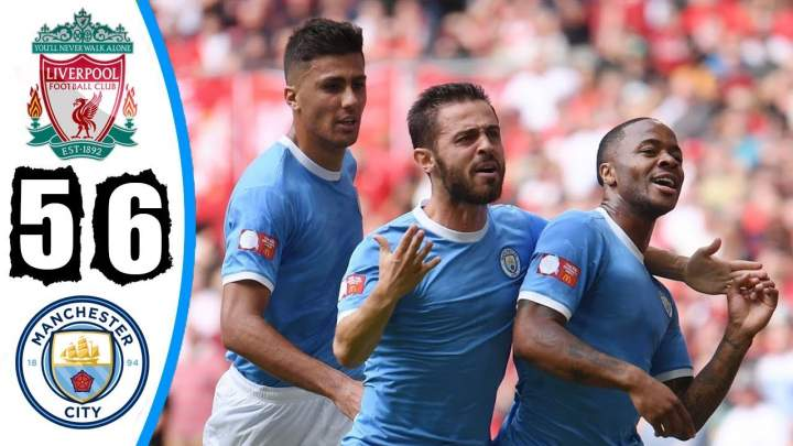 Liverpool 1 - 1 Man. City (Pen 4-5) (Aug-04-2019) FA Community Shield Highlights