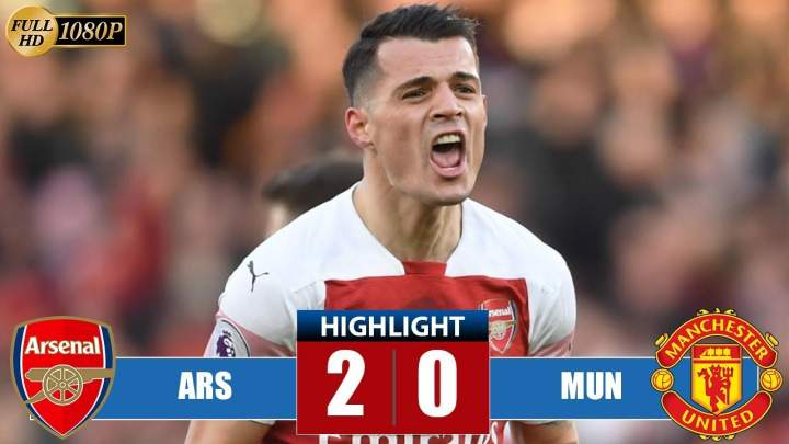 Arsenal 2 - 0 Manchester United (Mar-10-2019) Premier League Highlights