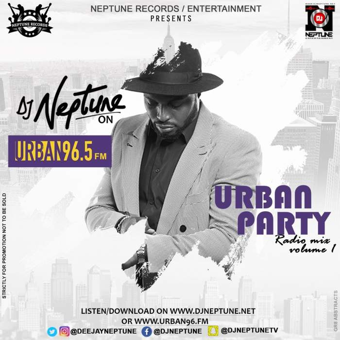 DJ Neptune - Urban Party Radio Mix (Vol. 1)