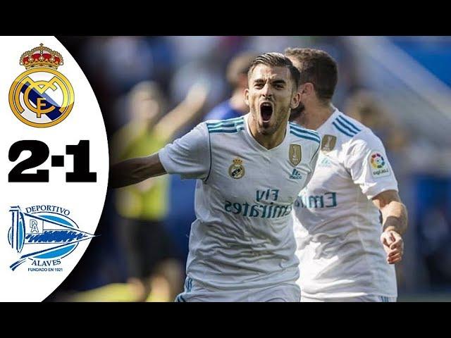 Deportivo Alaves 1 - 2 Real Madrid (Sep-23-2017) La Liga Highlights