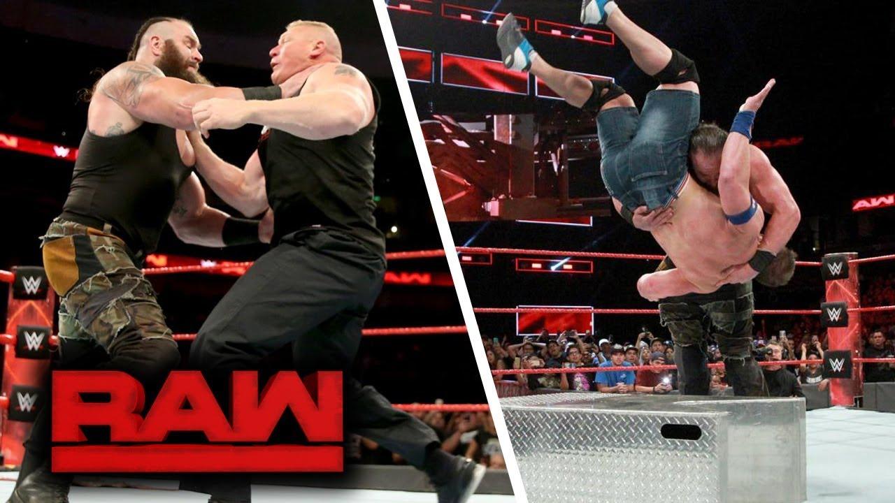 WWE RAW (Sep-11-2017) Highlights