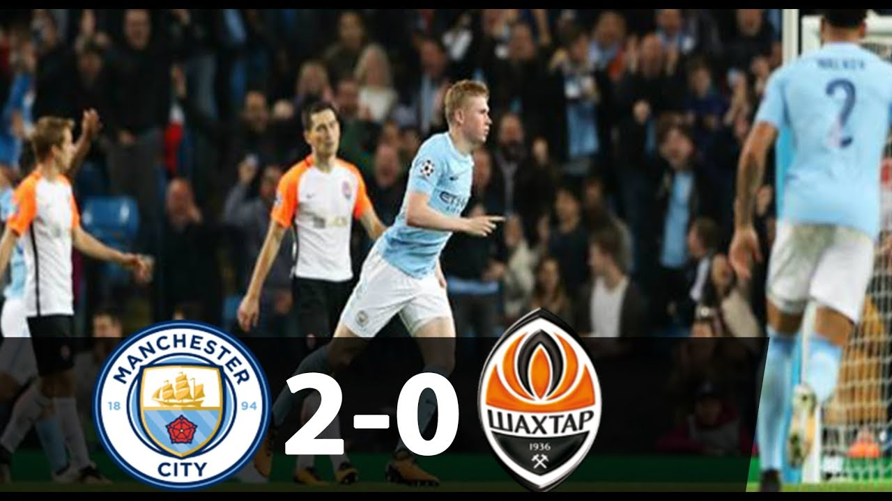 Manchester City 2 - 0 Shakhtar Donetsk (Sep-26-2017) Champions League Highlights