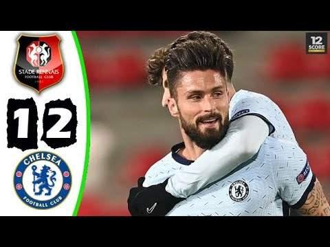 Rennes 1 - 2 Chelsea (Nov-24-2020) UEFA Champions League Highlights