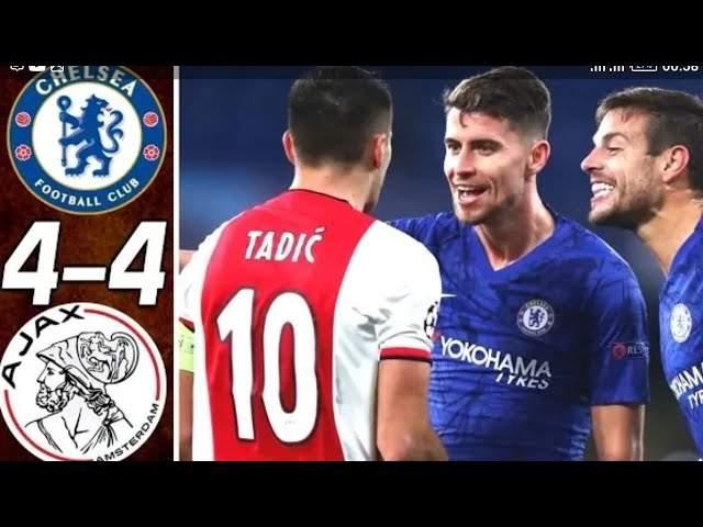 Chelsea 4 - 4 Ajax (Nov-05-2019) UEFA Champions League Highlights