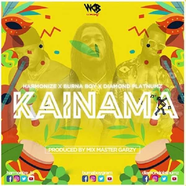 Harmonize - Kainama (feat. Burna Boy & Diamond Platnumz)