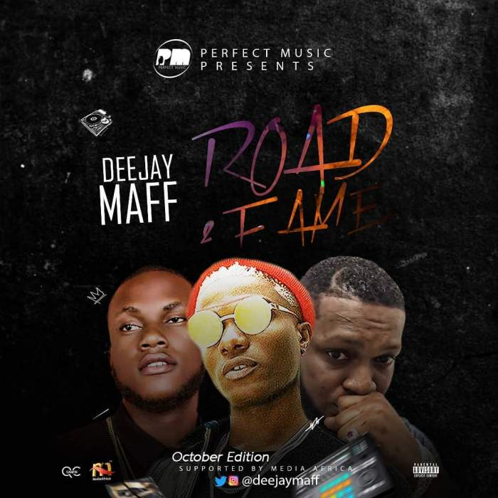 DJ Maff - Road2Fame Mix (October 2018 Edition)