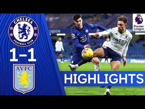 Chelsea 1 - 1 Aston Villa (Dec-28-2020) Premier League Highlights