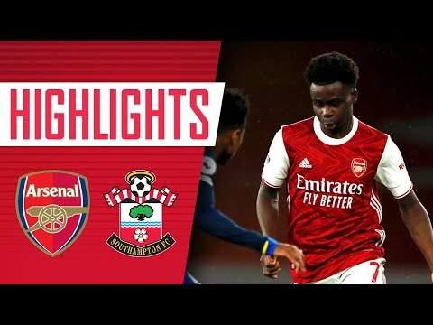 Video: Arsenal 1 - 1 Southampton (Dec-16-2020) Premier League Highlights