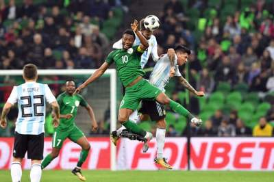 Video: Argentina 2 - 4 Nigeria (Nov-14-2017) Intl Friendly Highlights