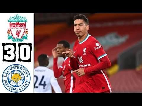 Liverpool 3 - 0 Leicester (Nov-22-2020) Premier League Highlights