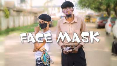 Comedy Skit: Yawa Skits - Episode 37 (Face Mask)