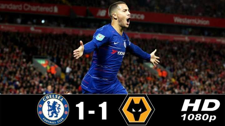 Chelsea 1 - 1 Wolves (Mar-10-2019) Premier League Highlights
