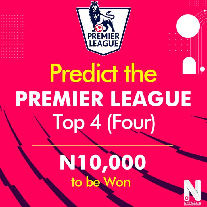 Here are the Winners of Our Premier League Top 4 Prediction Giveaway