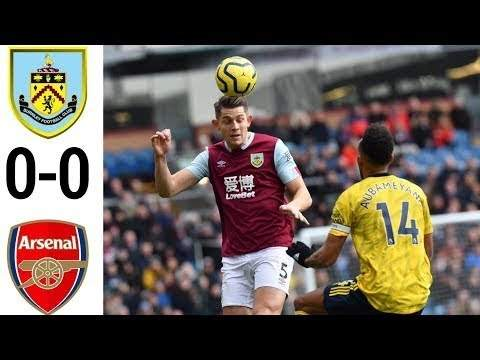 Burnley 0 - 0 Arsenal (Feb-02-2020) Premier League Highlights