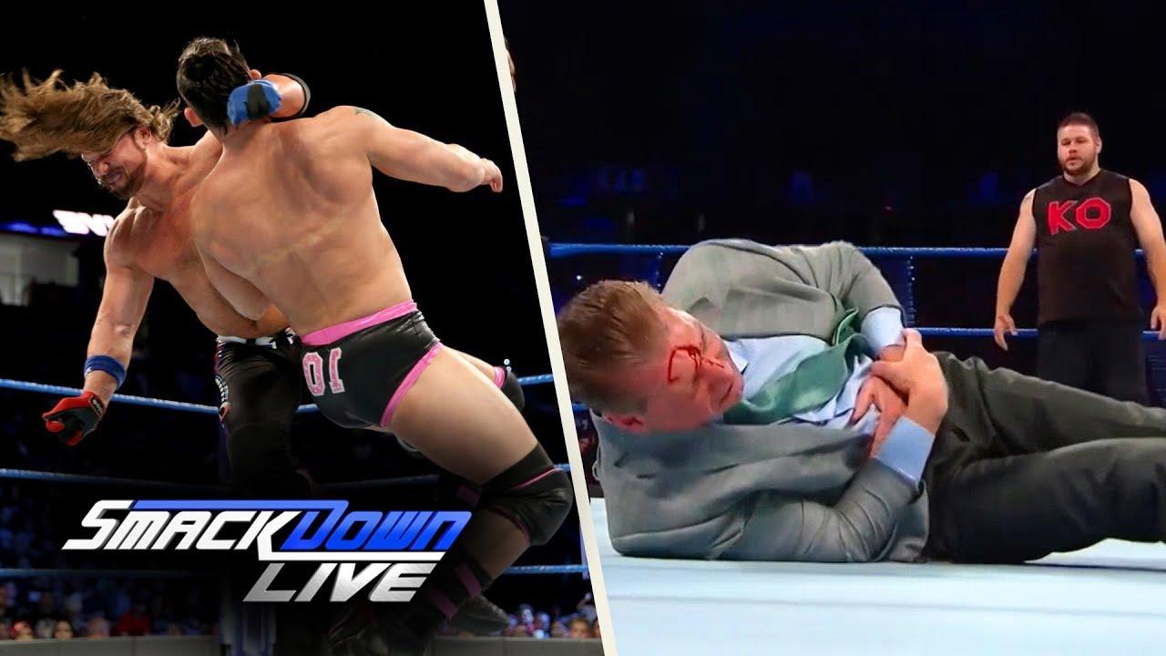 WWE SmackDown (Sep-12-2017) Highlights