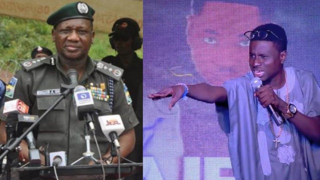 Kenny Blaq Cracks Jokes On IGP Transmission Speech and President Buhari