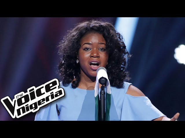 "Sandra Osamor sings ""Nigerian National Anthem"" - The Voice Nigeria Season 2"