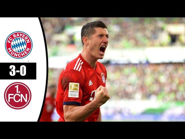 Bayern Munich 3 - 0 Nürnberg (Dec-08-2018) Bundesliga Highlights