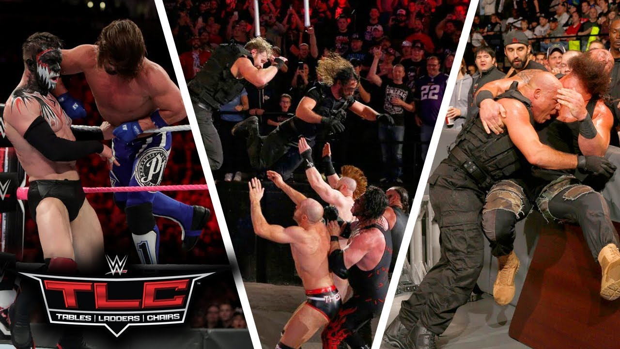 WWE Tables, Ladders & Chairs (TLC) 2017 Highlights