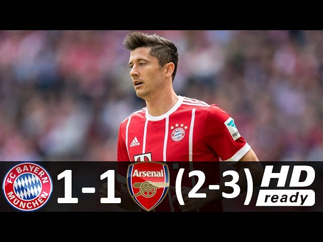 Bayern Munich 1 - 1 (2-3) Arsenal Friendly Highlights