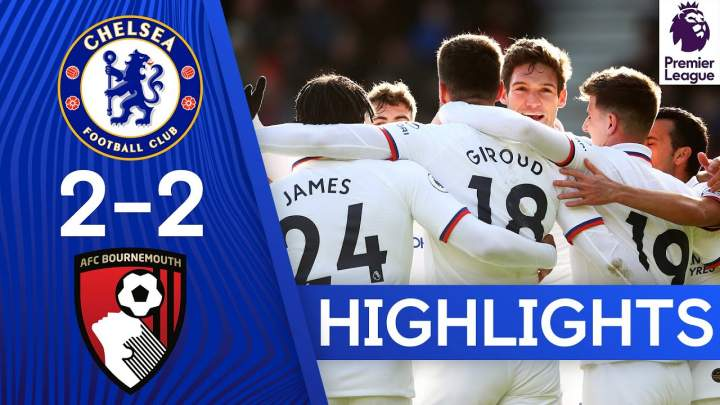 Bournemouth 2 - 2 Chelsea (Feb-29-2020) Premier League Highlights