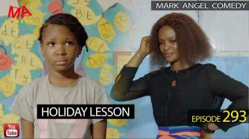 Comedy Skit: Mark Angel Comedy - Episode 293 (Holiday Lesson)