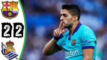 Video: Real Sociedad 2 - 2 Barcelona (Dec-14-2019) LaLiga Highlights
