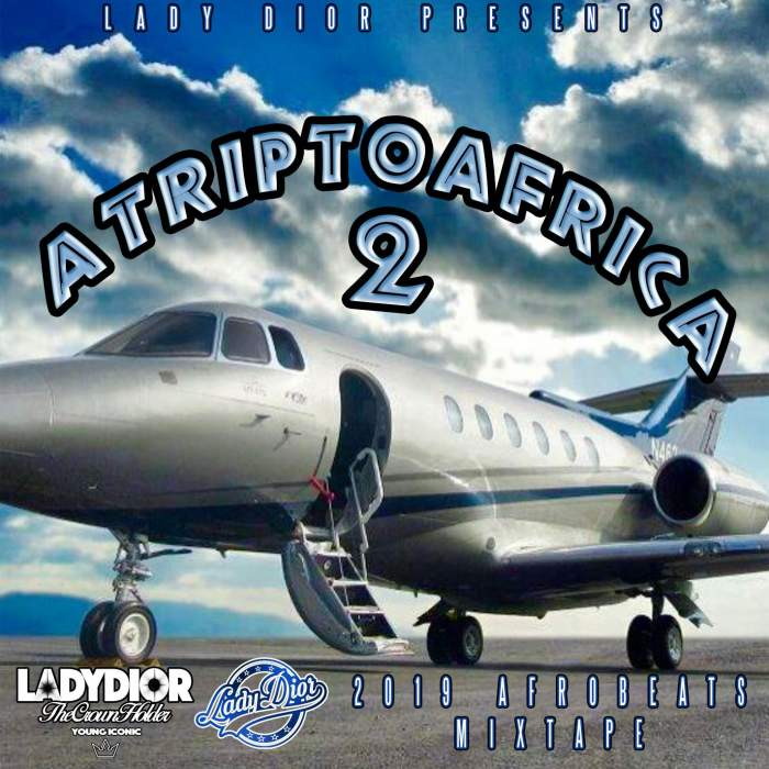 DJ Lady Dior - A Trip To Africa Mix (Vol. 2)