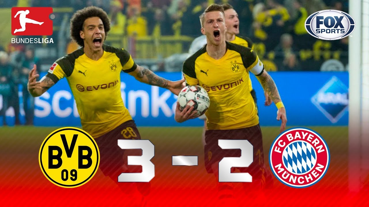 Borussia Dortmund 3 - 2 Bayern Munich (Nov-10-2018) Bundesliga Highlights